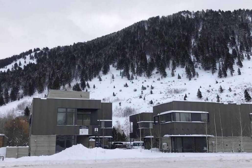 new apartments in winter in Jackson, Wyoming